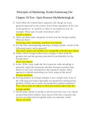 principles of marketing video case chapter For principles of marketing courses using a comprehensive text  consisting of either a case statement or video,  chapter 1 marketing:.