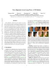 Face Alignment Across Large Poses- A 3D Solution.pdf