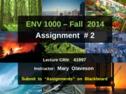 ENVS1000-F2014-Assignment-2-Instructions