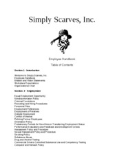 SimplyScarves.EmployeeHandbook
