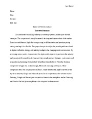 5229253781_Business Problem Analysis Research Paper