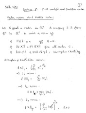 Lecture 5 - Error Analysis