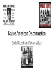 Native American Discrimintation.pptx