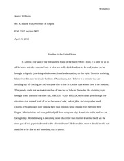 Jessica Williams Research Paper Final Enc 1102 Sec 9621 Rough Draft