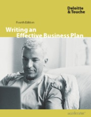 Writing an Effective Business Plan - Deloitte&Touche