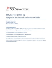 SQL%20Server%202008%20R2%20Upgrade%20Technical%20Reference%20Guide
