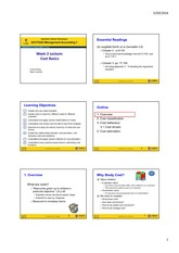 Topic 2 - CostBasics StudentCopy (6 slides page)2014