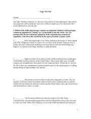 Critical thinking test .docx