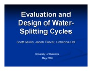 Final Presentation-Water Splitting