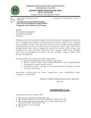 Usulan Pemberhentian Dan Pengangkatan Bpd Sukendro Pemerintah