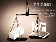 ch10 Pricing II0