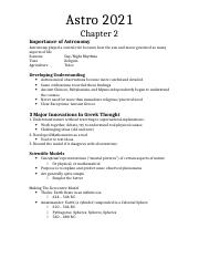 Astro 2021-Chapter 2 Notes.docx