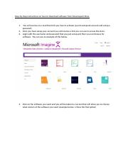Step by Step instructions Microsoft Imagine  download software.docx