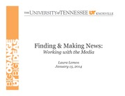 Lecture 2_320_Finding and Making News