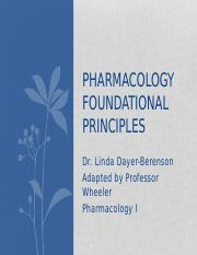 4 Pharmacology Foundational Principles - part 2 (1)-2.pptx