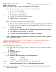2008 Exam 4 with answers