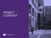 PSO_Project_Closeout