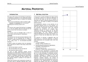 Material Properties course notes