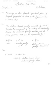 Chemistry - The Central Science PS9 Answers