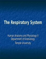 A&P 1224 - Respiratory System - Blackboard.ppt