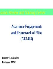 AT.1403_Assurance Engagement and Framework of PSAs2