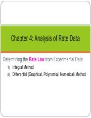 4 Analysis of Rate