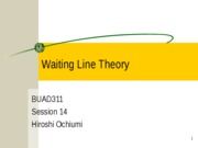 311_session_14_waiting_line_theory_hiroshi