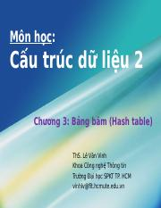 Chuong8 - Hash table.ppt