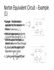Norton Equivalent Circuit Example - Dependent Source.pptx