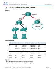10.1.2.4 Lab - Configuring Basic DHCPv4 on a Router.pdf