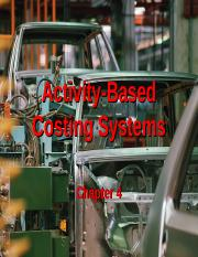 ch 4 activity-based costing systems