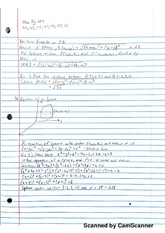 Calculus notes 12.2 vector