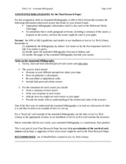 P4 Annotated_Bibliography examples Rubric