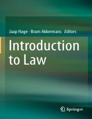 Introduction to Law_Jaap Hage164