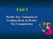 2012 Unit 5 Profit computation - s
