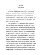 Prometheus bound essay