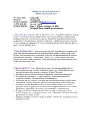 ECON_201_MICROECONOMICS_Online_Syllabus_Winter 14