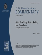 safe drinking water policy canada