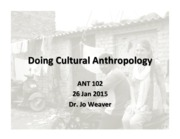 Ethnography and methods