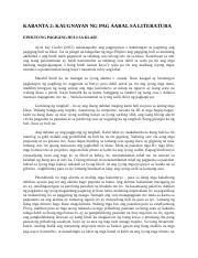 kaugnay na pag aaral at literatura ng pilipinas 2018-10-11 kabanata 1 ang suliranin at mga kaugnay na literatura kaligiran ng pag-aaral ang kaalaman tungkol sa iba't-ibang bagay, personalidad, at kaganapan, sa ating.