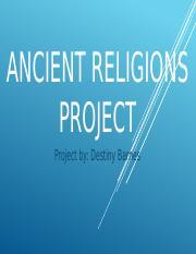 Ancient Religions Project