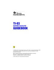 ti83Guidebook