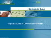 CL266_Seminar 9_Duties of Directors and Officers(2)(2)