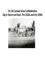 Week 6 54 156 Boom and Bust Canada Since Confederation PPT.pdf