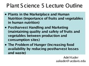 12  Lecture Postharvest notes