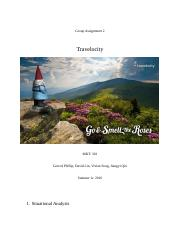 Travelocity Group Assignment