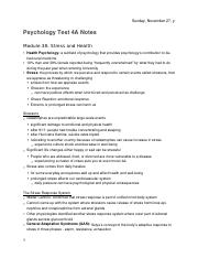 PSYCH 1010 Test 4A Notes (Module 38-39, 47-51)
