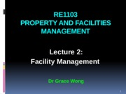 RE1103 Lecture 2