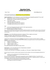 tutor1-partial answer key and guidelines