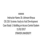 Case Study 1- Building an Access Control System.pptx